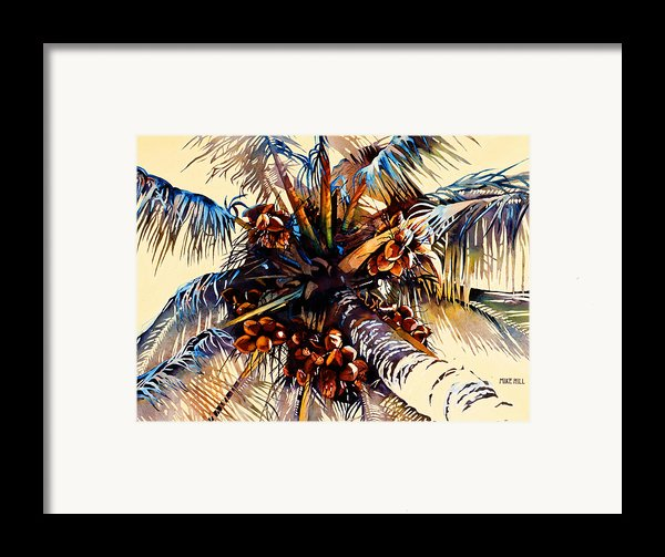Oh Nuts Framed Print By Mike Hill