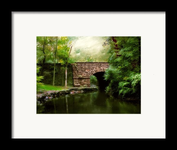 Old Country Bridge Framed Print By Jessica Jenney