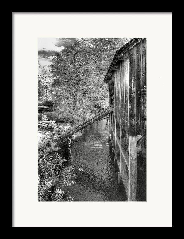 Old Grist Mill Framed Print By Joann Vitali