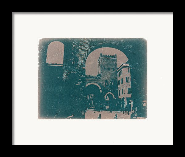 Old Milan Framed Print By Naxart Studio