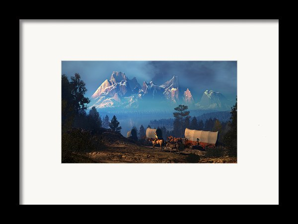 Once But Long Ago Framed Print By Dieter Carlton