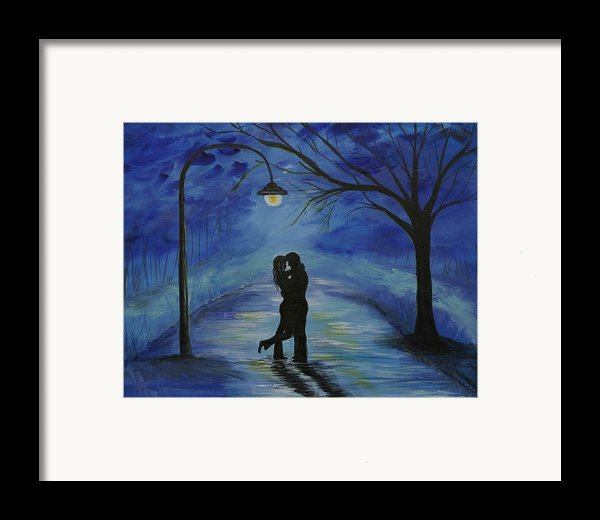One Love One Lifetime Framed Print By Leslie Allen