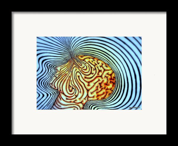 Only We Can Shape Our Own Destiny Framed Print By Paulo Zerbato