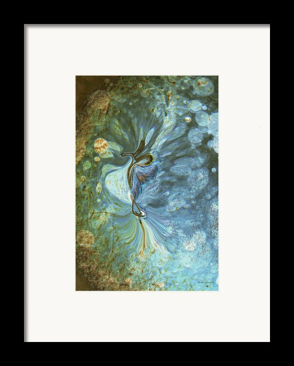 Onward Framed Print By Linda Sannuti