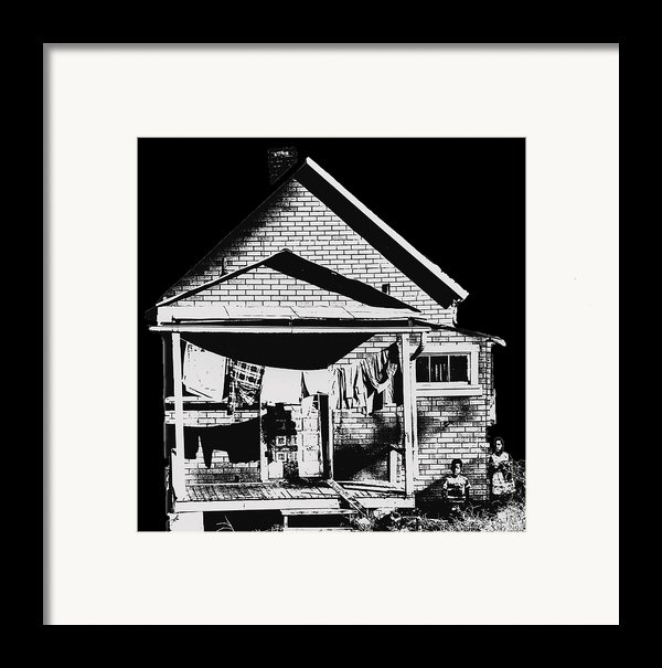 Other Side Of America Framed Print By Don Wolf