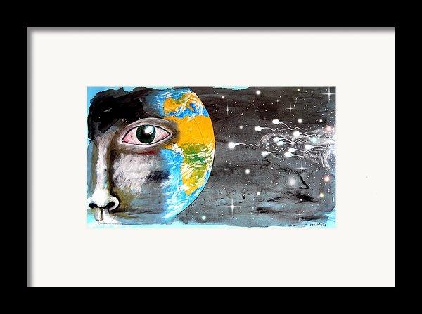 Our Cosmic Origin Framed Print By Paulo Zerbato