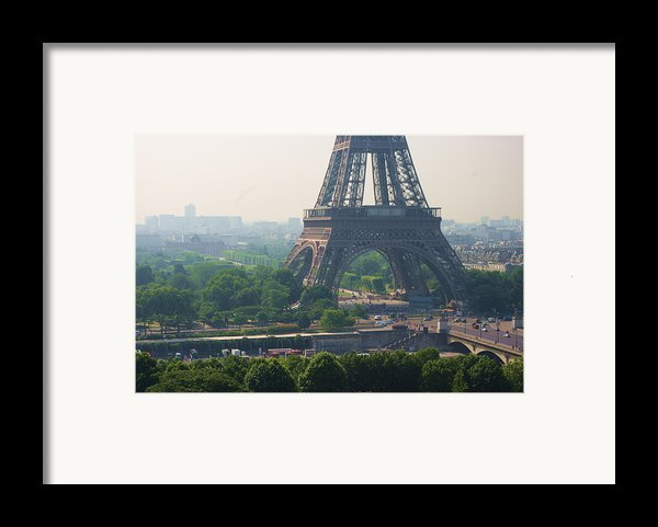 Paris Tour Eiffel 301 Pollution, Pollution Framed Print By Pascal Poggi