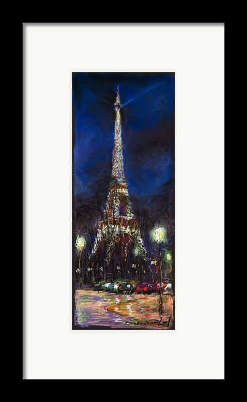 Paris Tour Eiffel Framed Print By Yuriy  Shevchuk