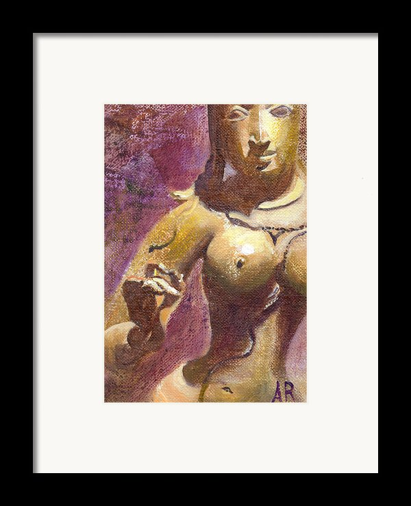 Parvati Framed Print By Ann Radley