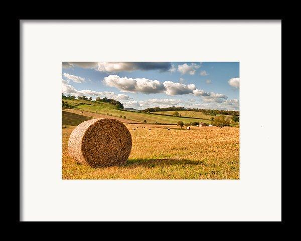 Perfect Harvest Landscape Framed Print By Amanda And Christopher Elwell