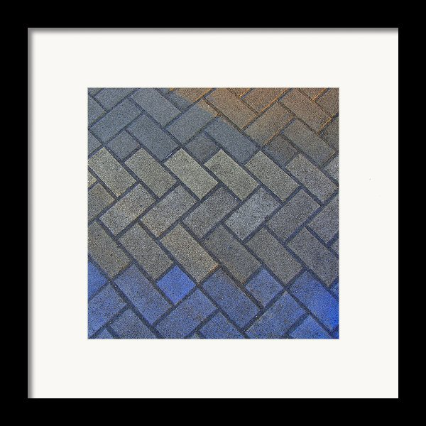 Perfect Tiling Framed Print By Roberto Alamino