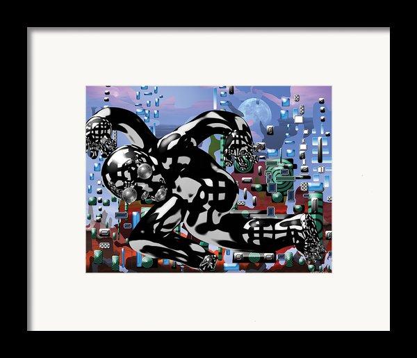 Phantom Framed Print By Marko Mitic