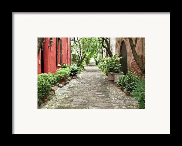 Philadelphia Alley Charleston Pathway Framed Print By Dustin K Ryan