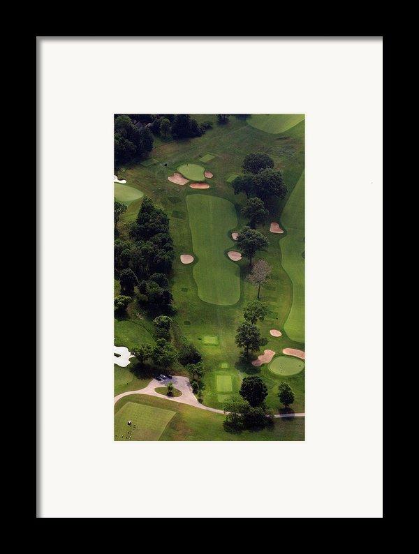 Philadelphia Cricket Club Wissahickon Golf Course 5th Hole Framed Print By Duncan Pearson