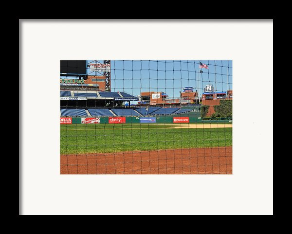 Phillies Framed Print By Brynn Ditsche