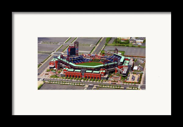 Phillies Citizens Bank Park Framed Print By Duncan Pearson