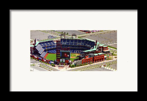 Phillies Citizens Bank Park Philadelphia Framed Print By Duncan Pearson