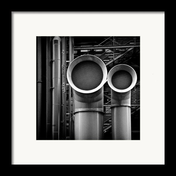 Pipes Framed Print By Dave Bowman
