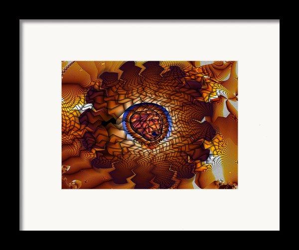 Pistil And Stamen Framed Print By Ron Bissett