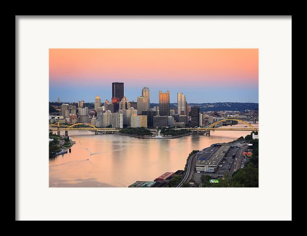 Pittsburgh 16 Framed Print By Emmanuel Panagiotakis