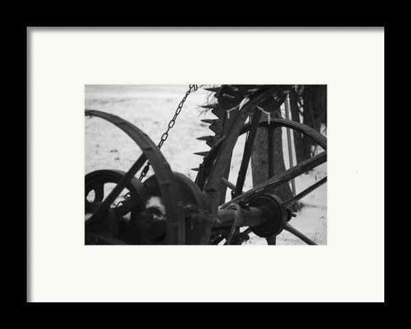Plow Framed Print By Peter  Mcintosh