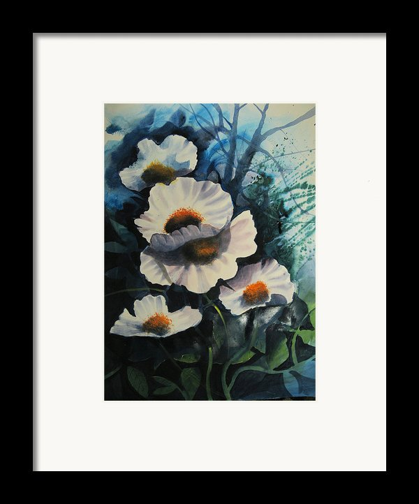 Poppies Framed Print By Robert Carver