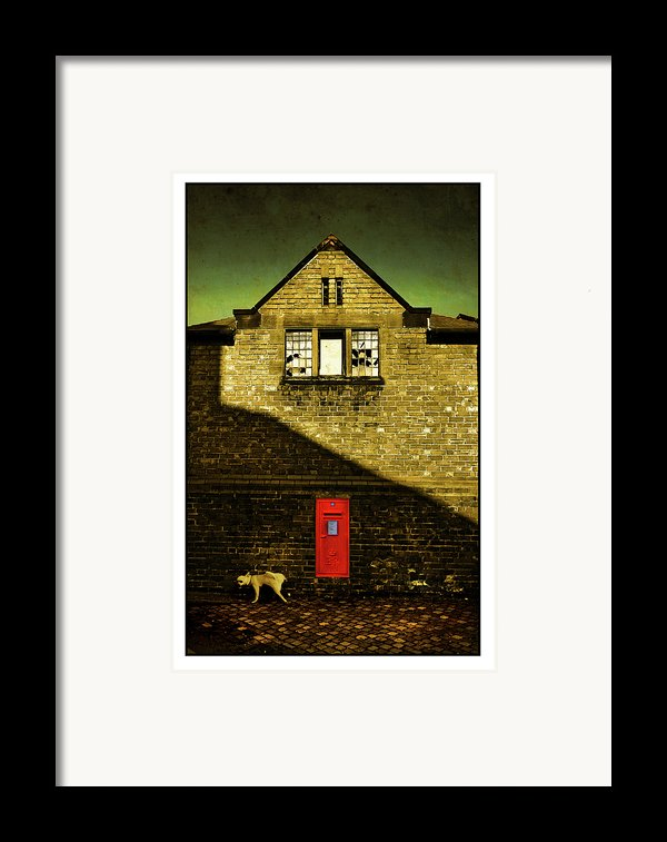 Postal Service Framed Print By Mal Bray