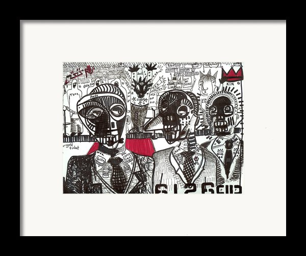 Private Party Framed Print By Robert Wolverton Jr