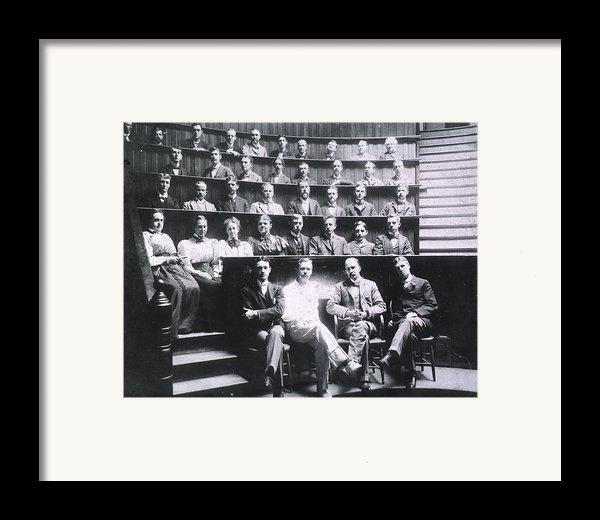 Professors Harvey Cushing, Howard Framed Print By Everett