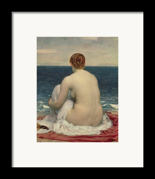Psamanthe Framed Print By Frederic Leighton