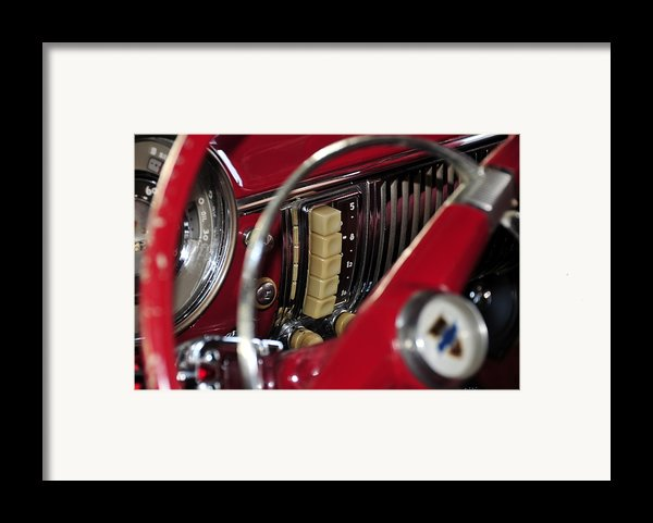 Push Buttons Framed Print By David Lee Thompson