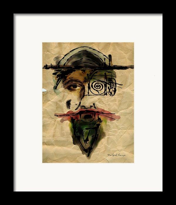 Quoijote 002 Framed Print By Rafael Gaya