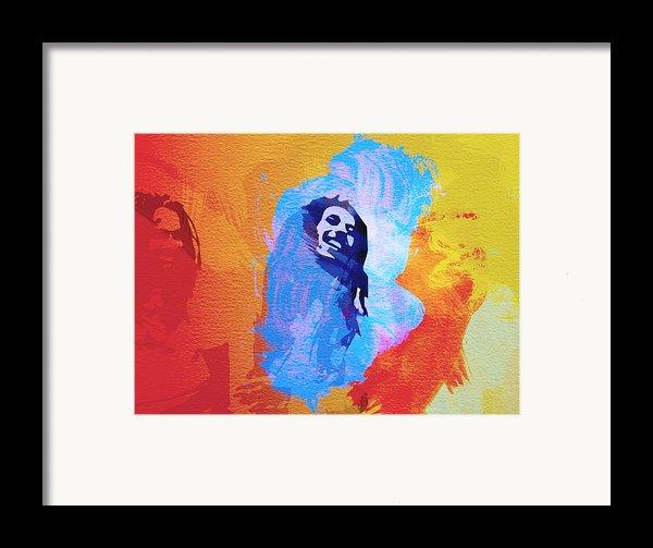 Reggae Kings Framed Print By Naxart Studio