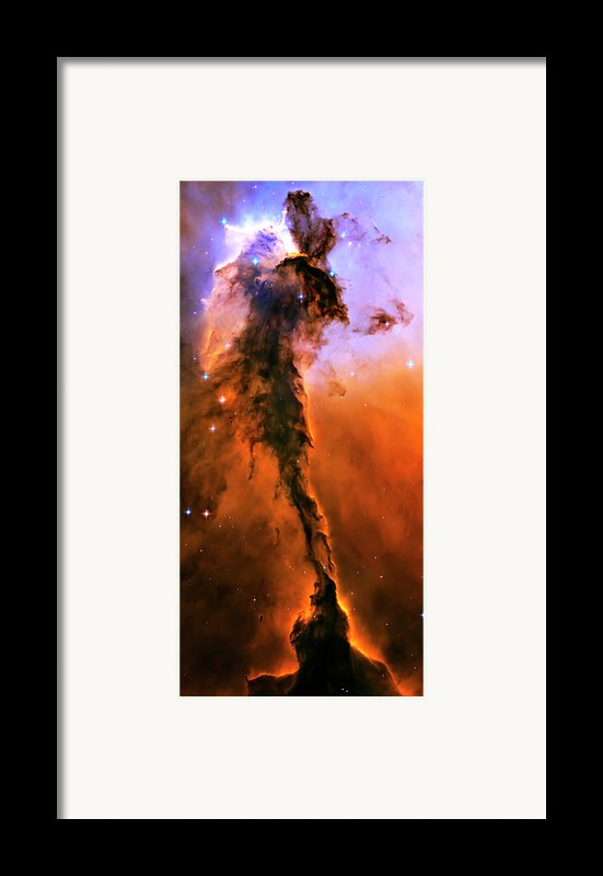 Release - Eagle Nebula 1 Framed Print By The  Vault - Jennifer Rondinelli Reilly