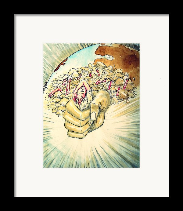 Relentless Law Of Return Framed Print By Paulo Zerbato