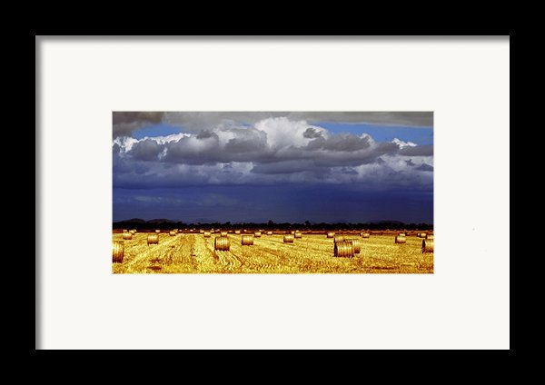 Rolling On Framed Print By Holly Kempe