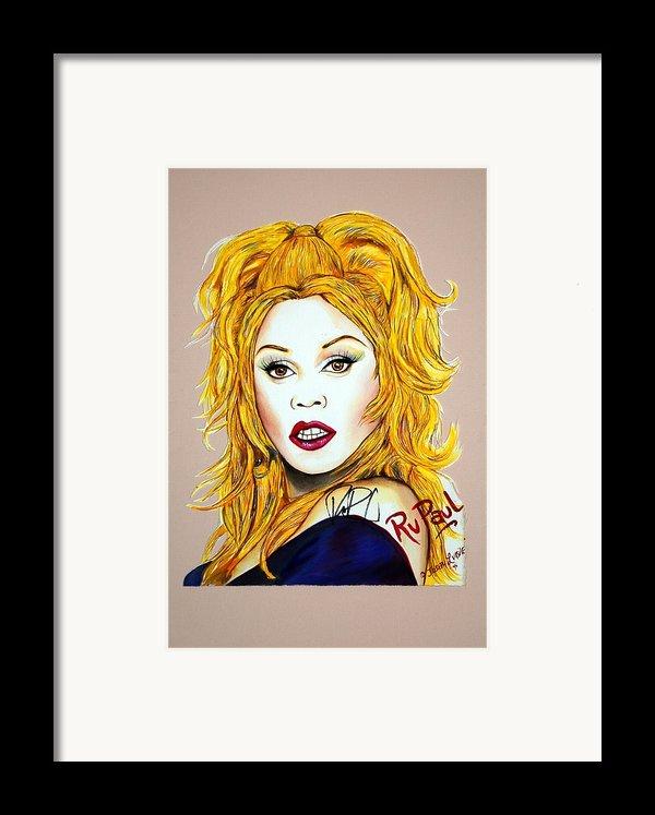 Ru Ru Framed Print By Joseph Lawrence Vasile