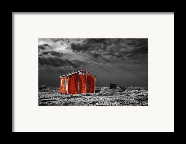 Rusting Away Framed Print By Meirion Matthias
