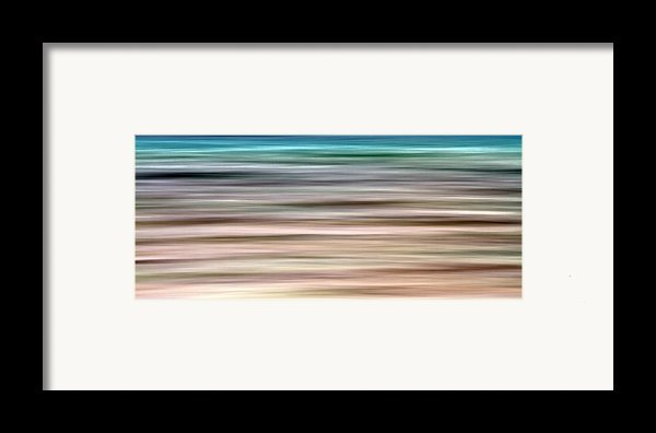 Sea Movement Framed Print By Stylianos Kleanthous