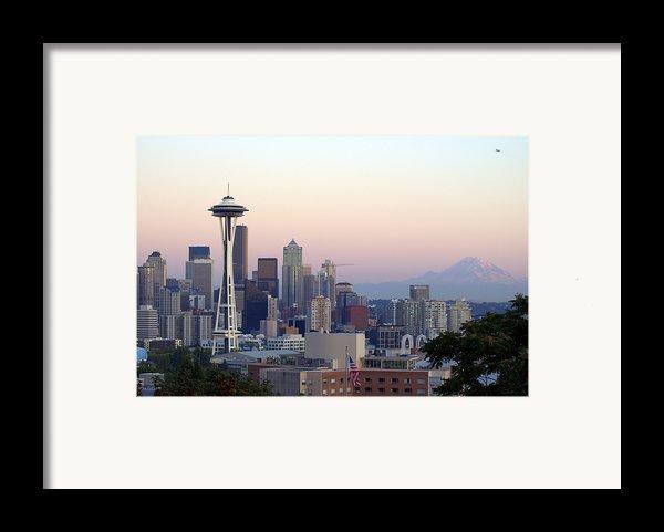 Seattle Framed Print By Larry Keahey
