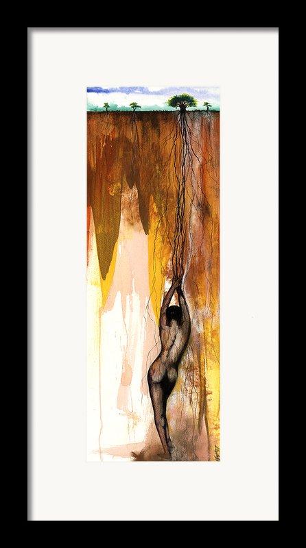 Second Lady Framed Print By Anthony Burks Sr