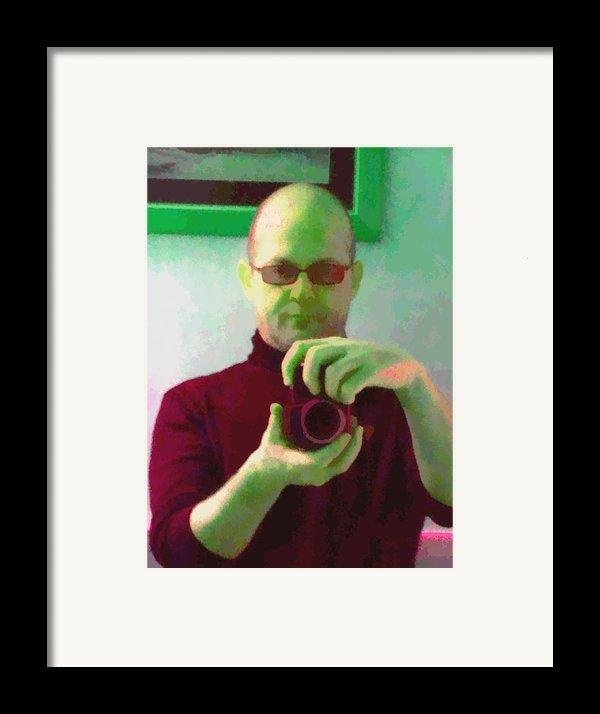 Self Portrait Framed Print By Roberto Edmanson-harrison