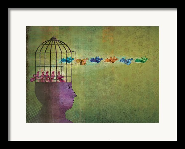 Set Them Free Framed Print By Dennis Wunsch