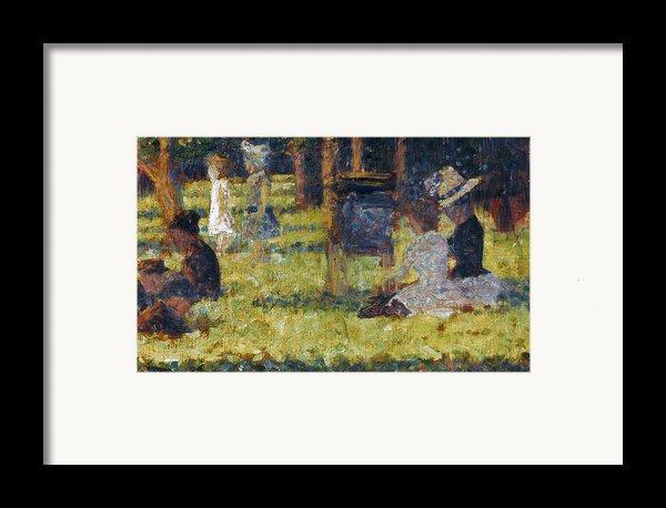 Seurat: Grande Jatte, 1884 Framed Print By Granger