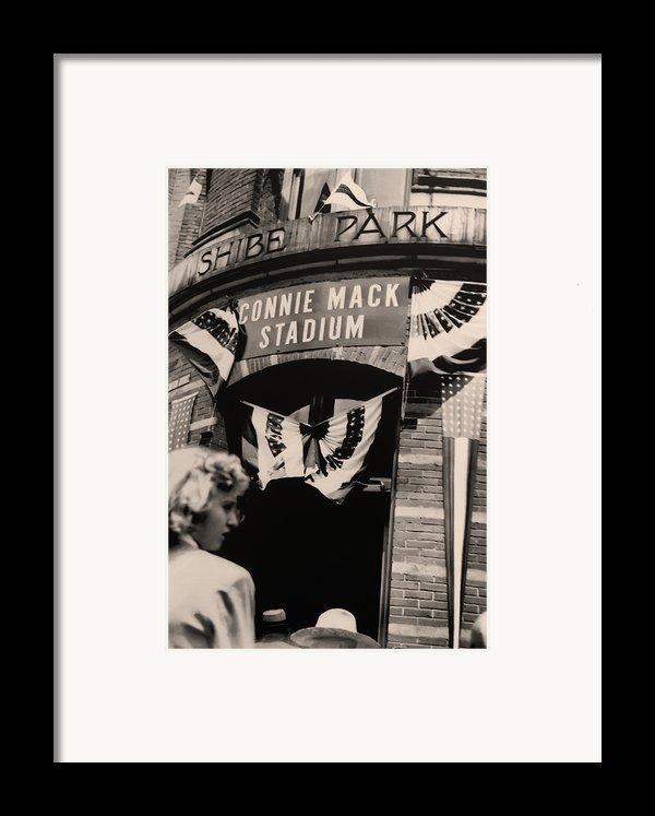 Shibe Park - Connie Mack Stadium Framed Print By Bill Cannon