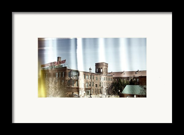 Slit Scan 3 Framed Print By Patrick Biestman