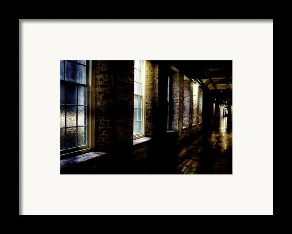 Slit Scan 5 Framed Print By Patrick Biestman