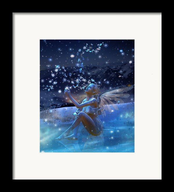 Snowflake Framed Print By Karen K
