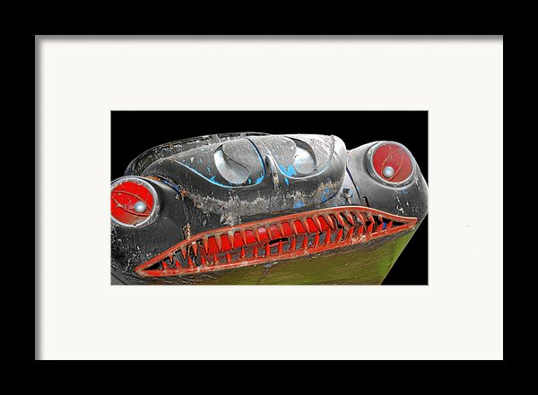 Some Cars Are Born Bad Framed Print By Christine Till