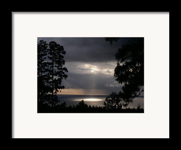 Sonoma Coast Drama Framed Print By Brad Wilson